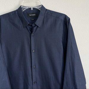 The Kooples Pattern Button Down Long Sleeve Shirt